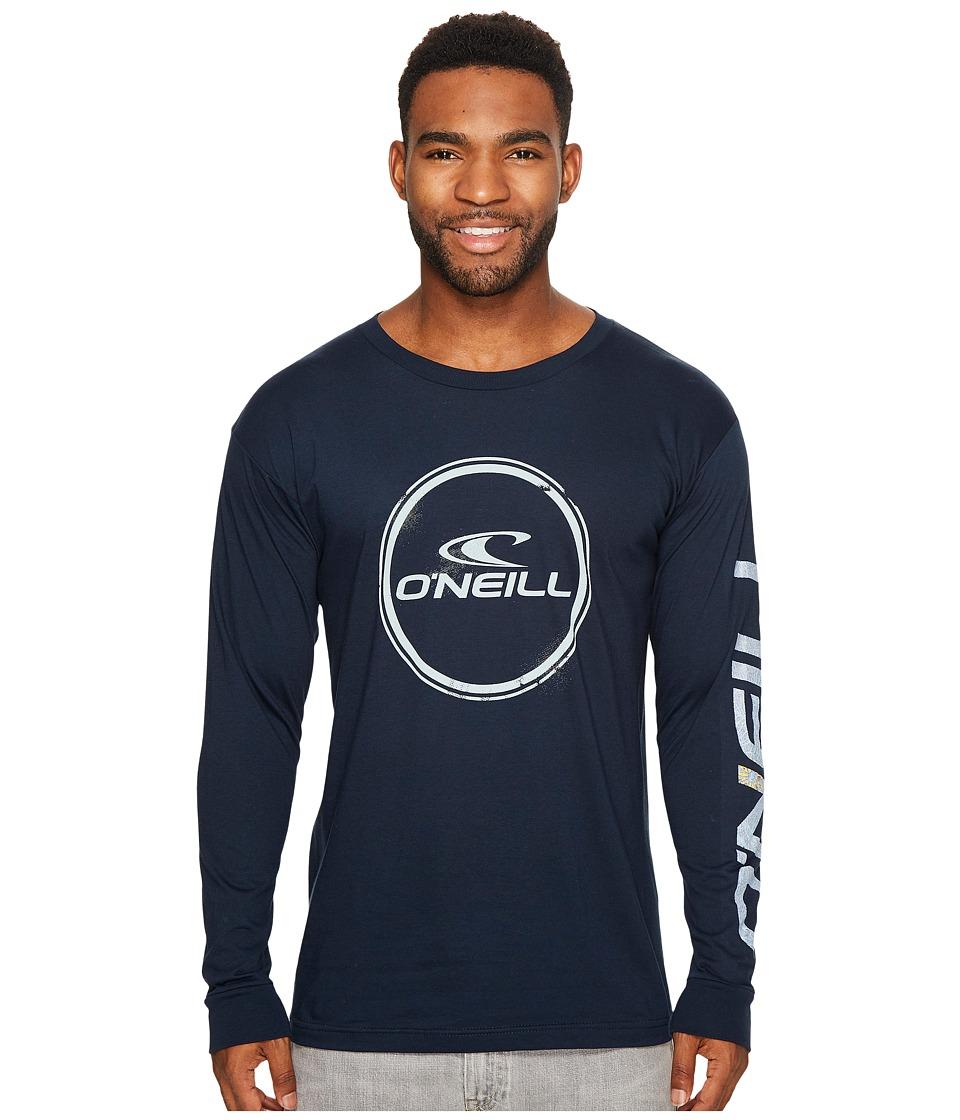 O'Neill - Wind Jammer Long Sleeve Tee (Navy) Men's T Shirt