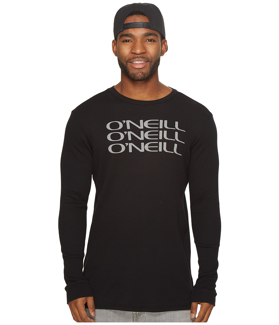 O'Neill - Roots Thermal Top (Black) Men's Clothing