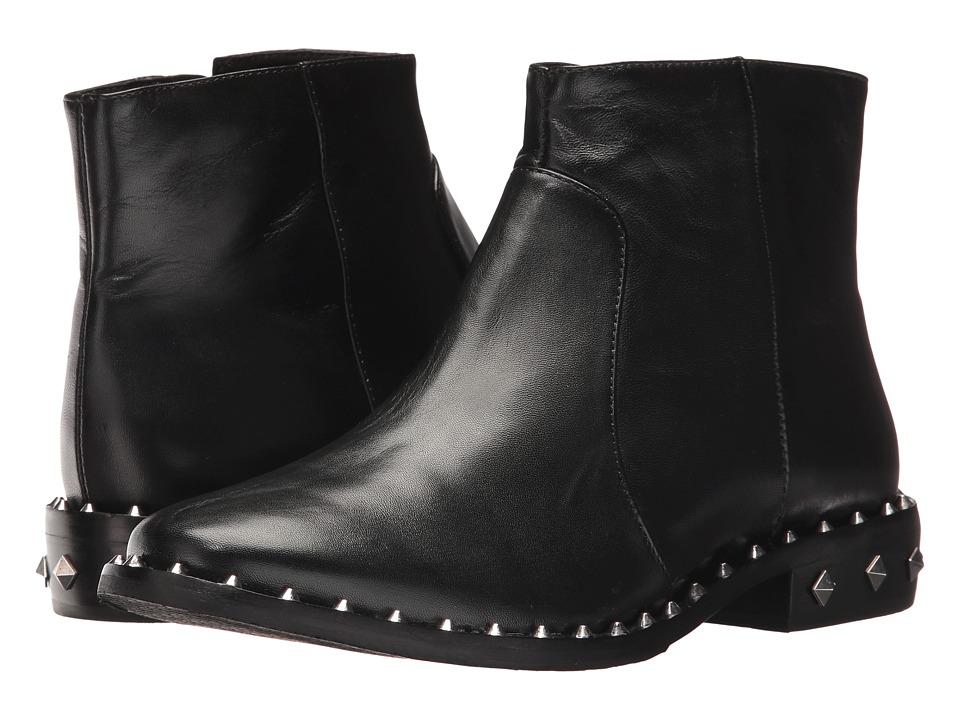 Schutz - Monike (Black) Women's Zip Boots