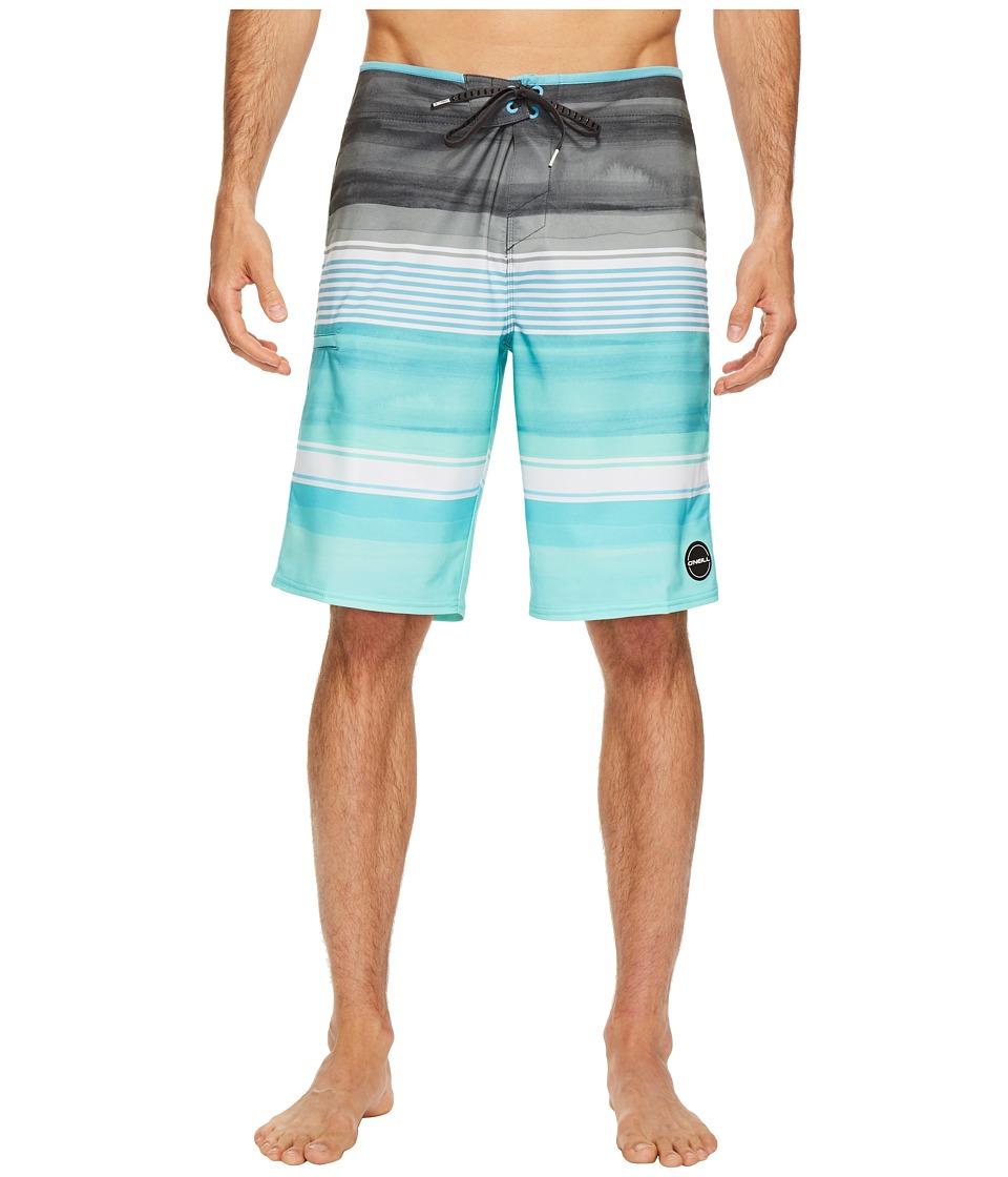 O'Neill - Hyperfreak Heist Superfreak Series Boardshorts (Turquoise) Men's Swimwear