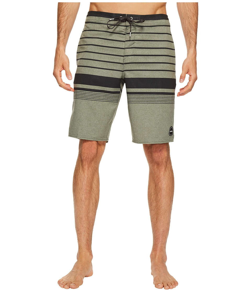 O'Neill - Hyperfreak Vista 24-7 Superfreak Series Boardshorts (Army) Men's Swimwear
