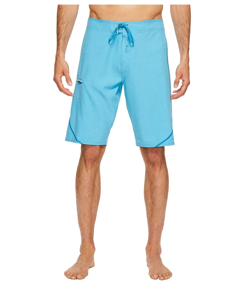 O'Neill - Hyperfreak S-Seam Superfreak Series Boardshorts (Light Blue Heather) Men's Swimwear