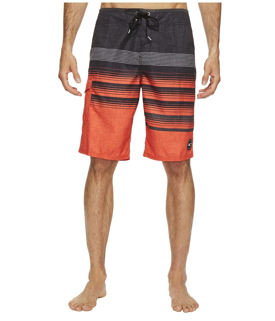 O'Neill - Lennox Boardshorts (Neon Red) Men's Swimwear