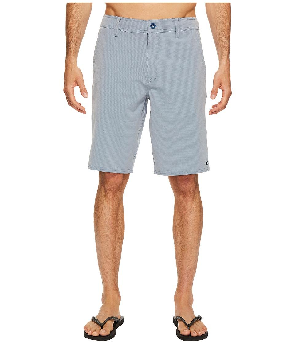 O'Neill - Loaded Check Hybrid Boardshorts (Light Blue) Men's Swimwear