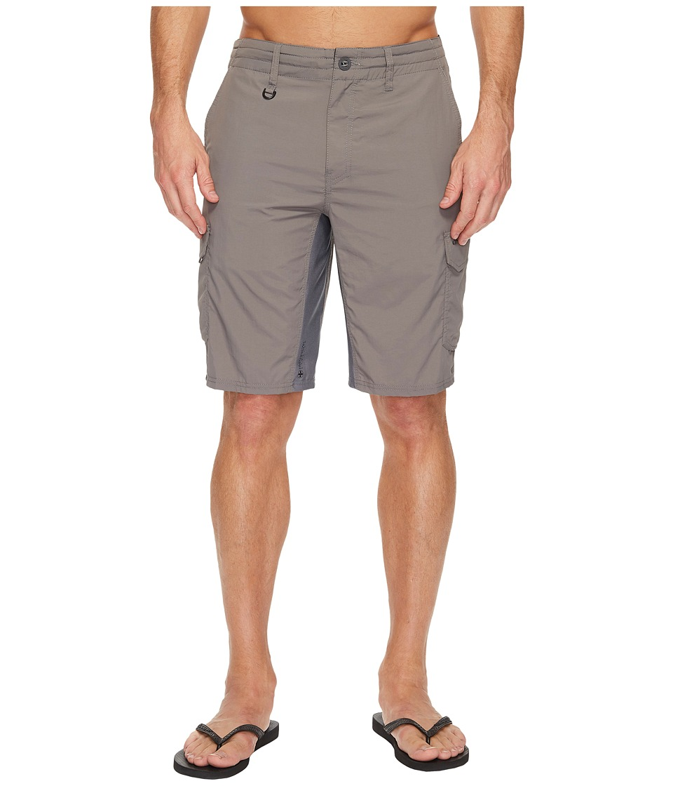 O'Neill - Traveler Cargo Hybrid Shorts (Khaki) Men's Swimwear