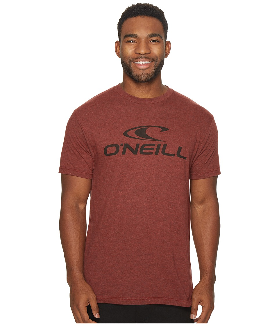 O'Neill - City Limits Tee (Brick Black Heather) Men's T Shirt