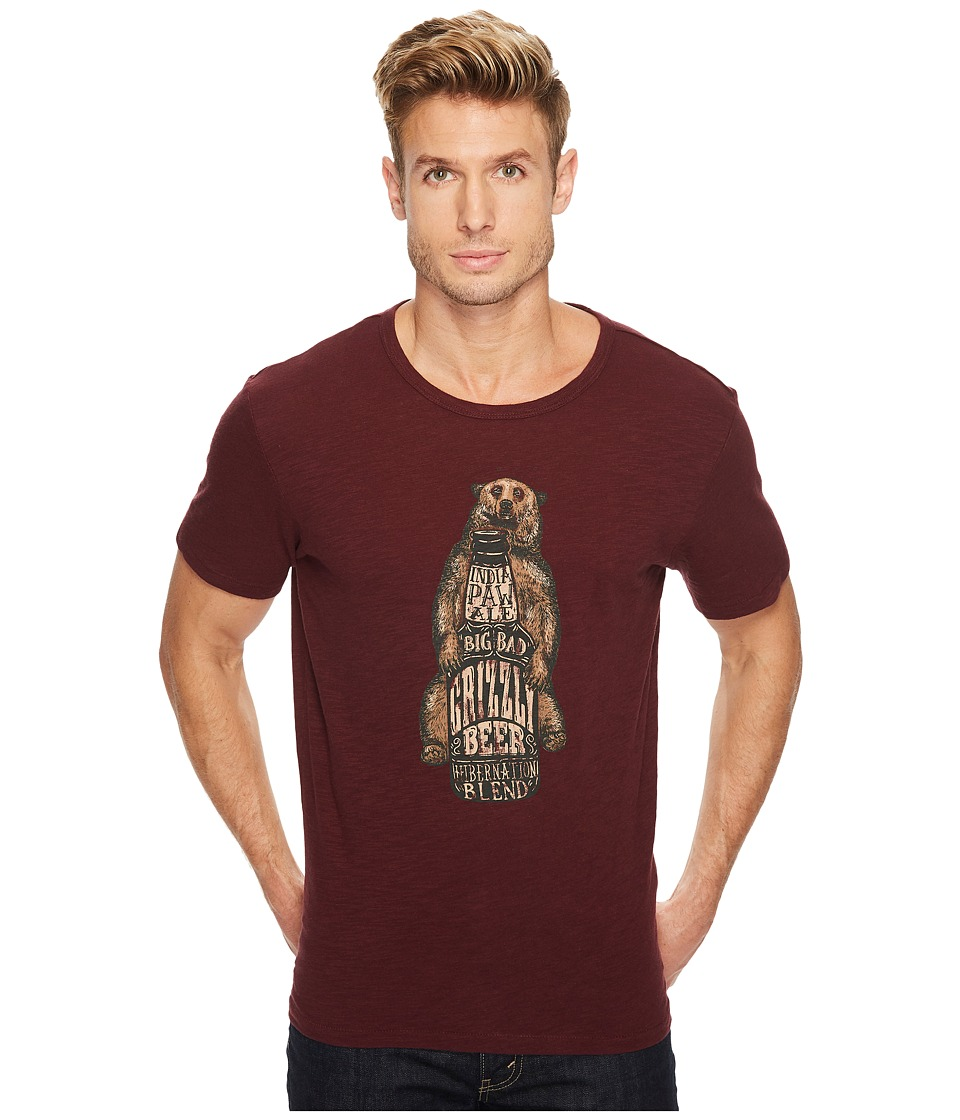 Lucky Brand - India Paw Ale Graphic Tee (Port Royal) Men's T Shirt