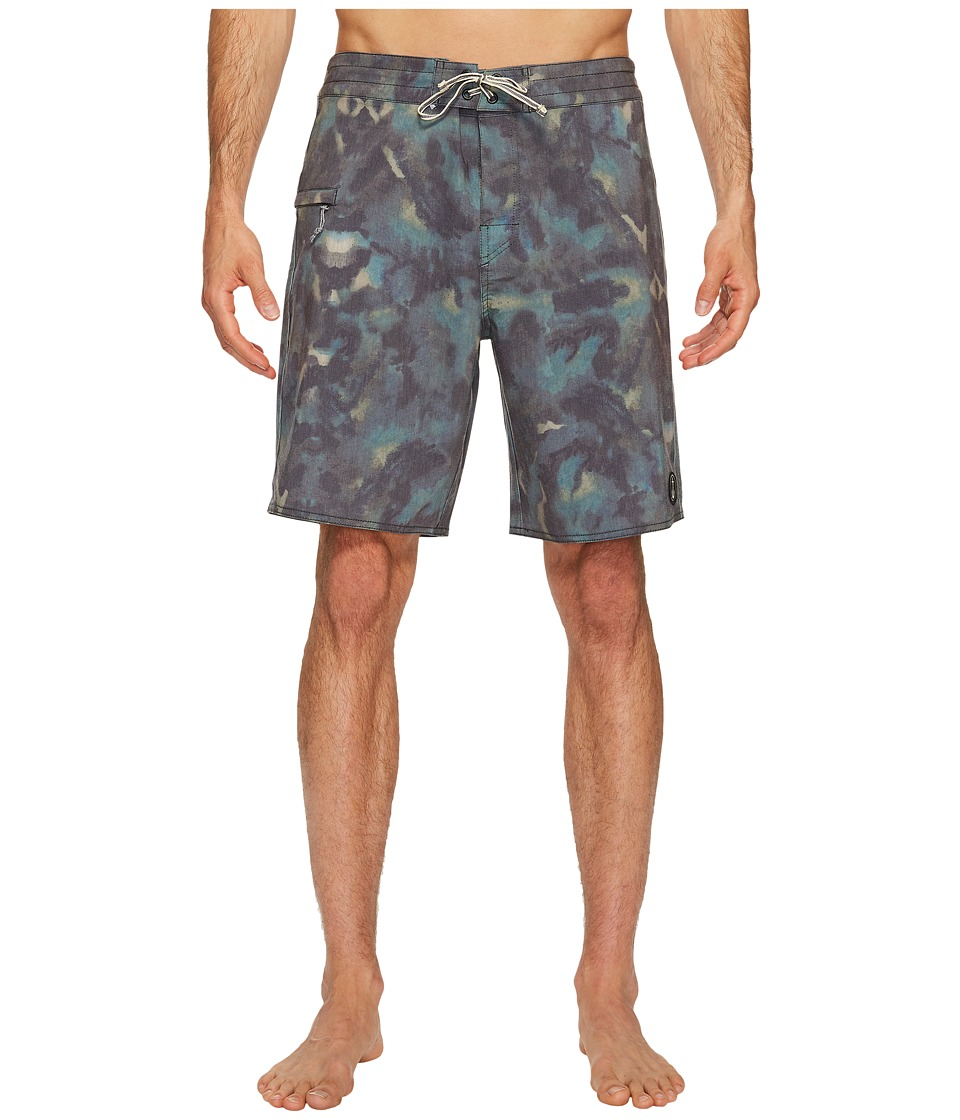 Captain Fin - Camolot Boardshort (Camo) Men's Swimwear