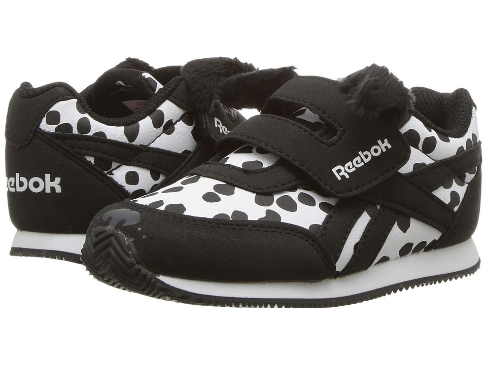 Reebok Kids Royal CL Jogger 2 KC (Toddler) (Dalmatian/White/Black) Girls Shoes