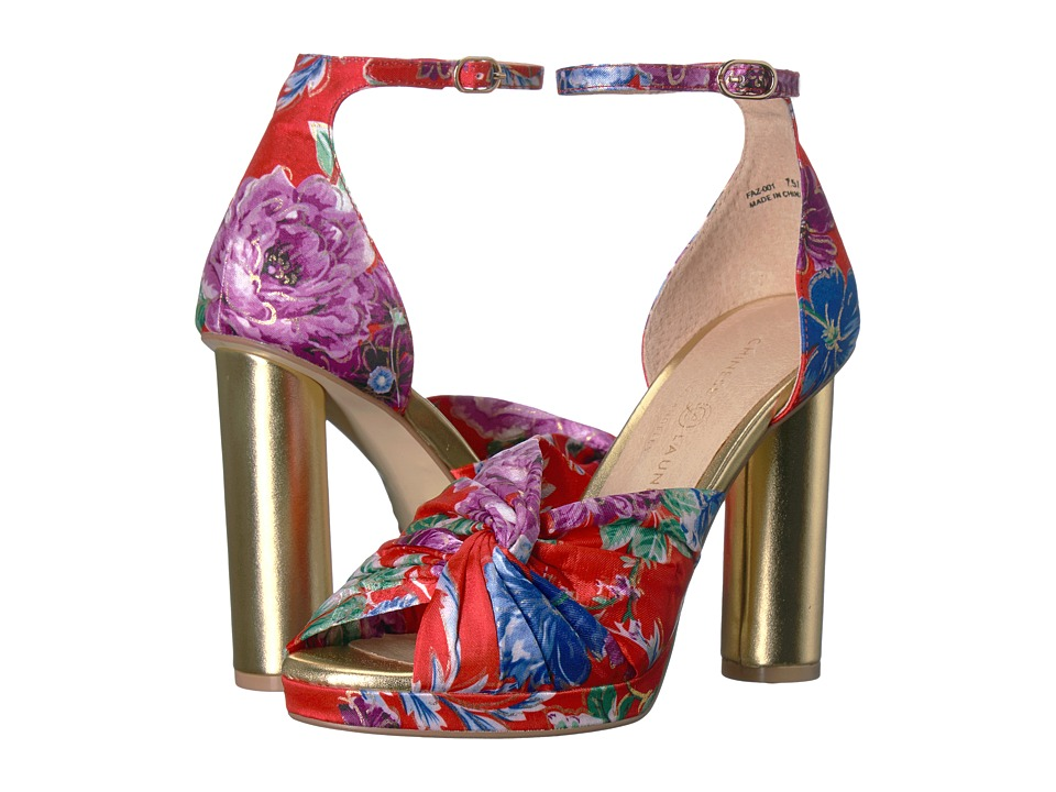 Chinese Laundry Flory (Red Kimono Print) High Heels