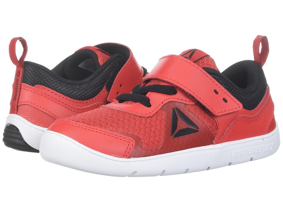 Reebok Kids Ventureflex Stride 5.0 (Toddler) (Primal Red/Black/White) Boys Shoes