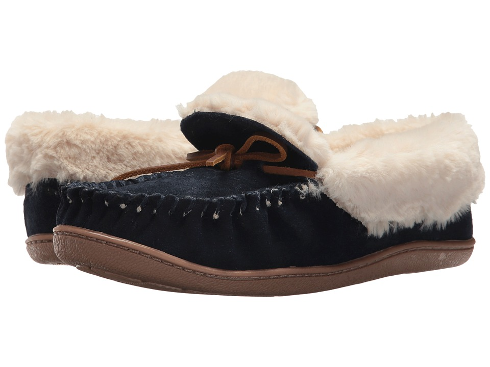 Minnetonka Tiffany Folded Trapper (Dark Navy) Women
