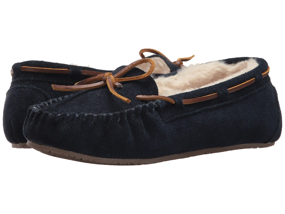 Minnetonka Gina Junior Trapper (Dark Navy) Women