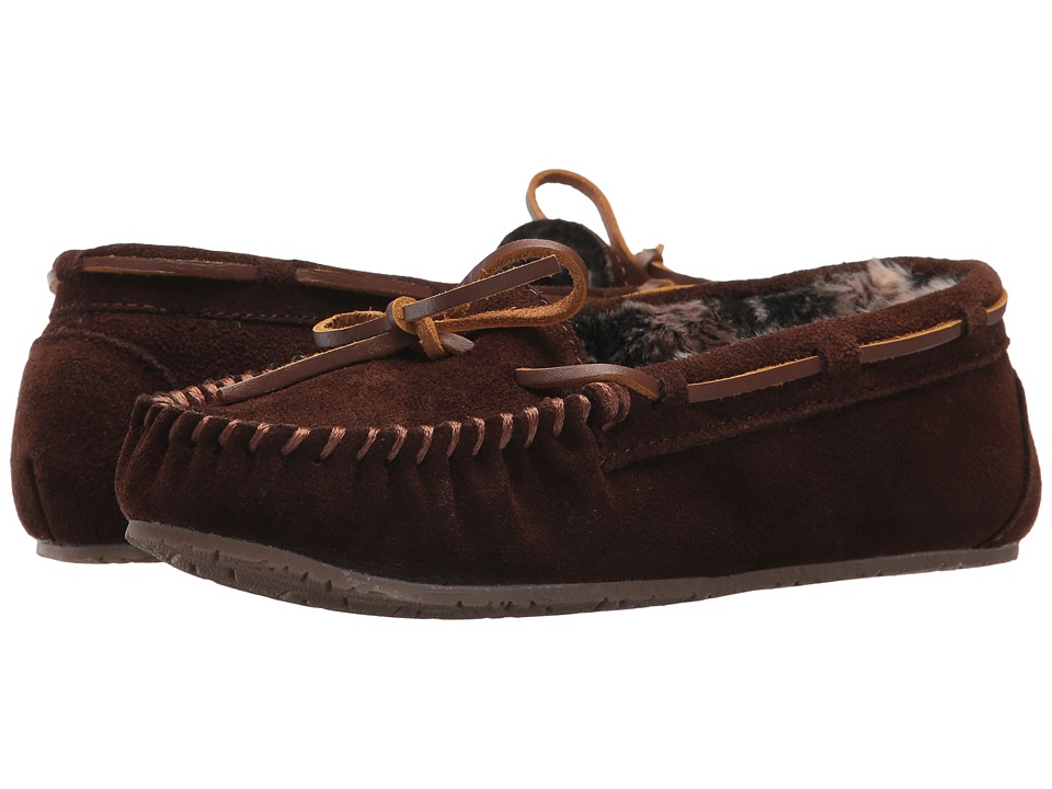 Minnetonka Gina Junior Trapper II (Chocolate) Women