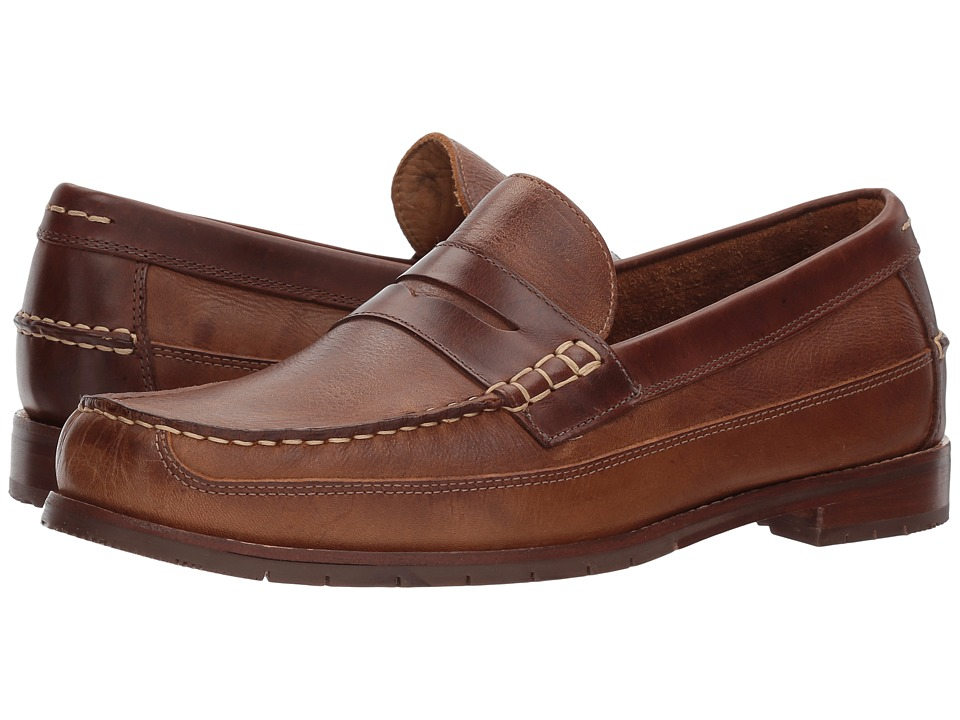 G.H. Bass & Co. Howard (Tan Waxy Tumbled Leather) Men