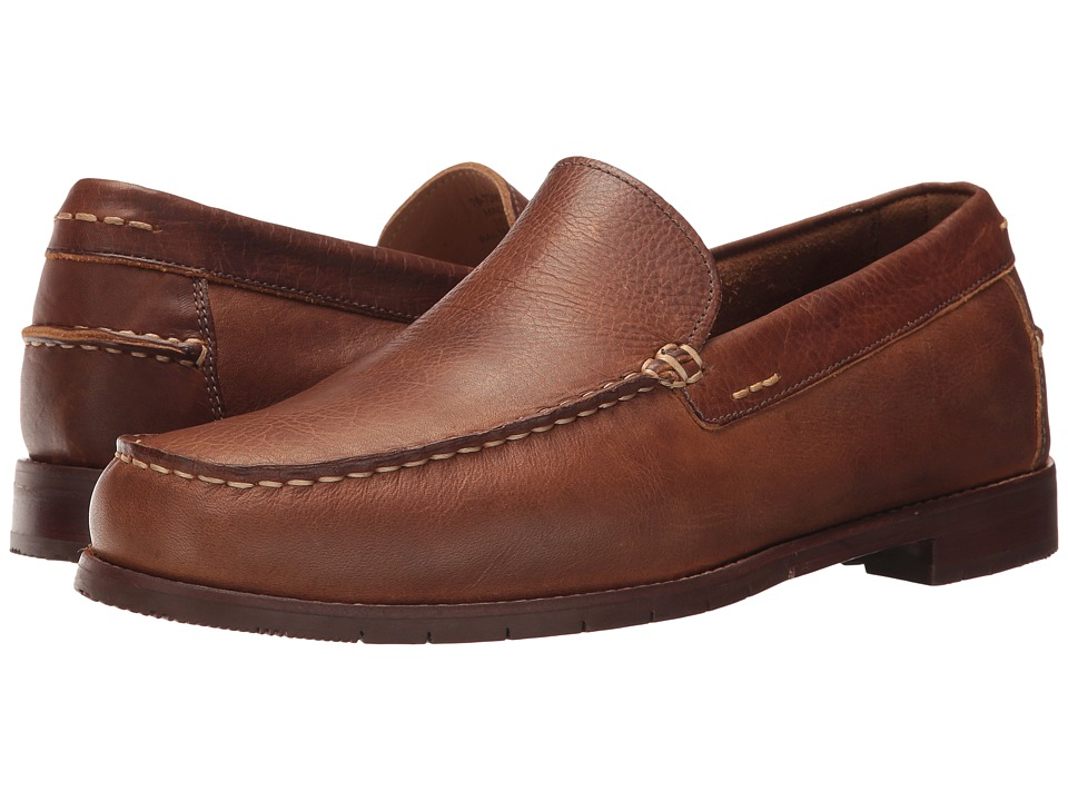 G.H. Bass & Co. Holmes (Tan Waxy Tumbled Leather) Men