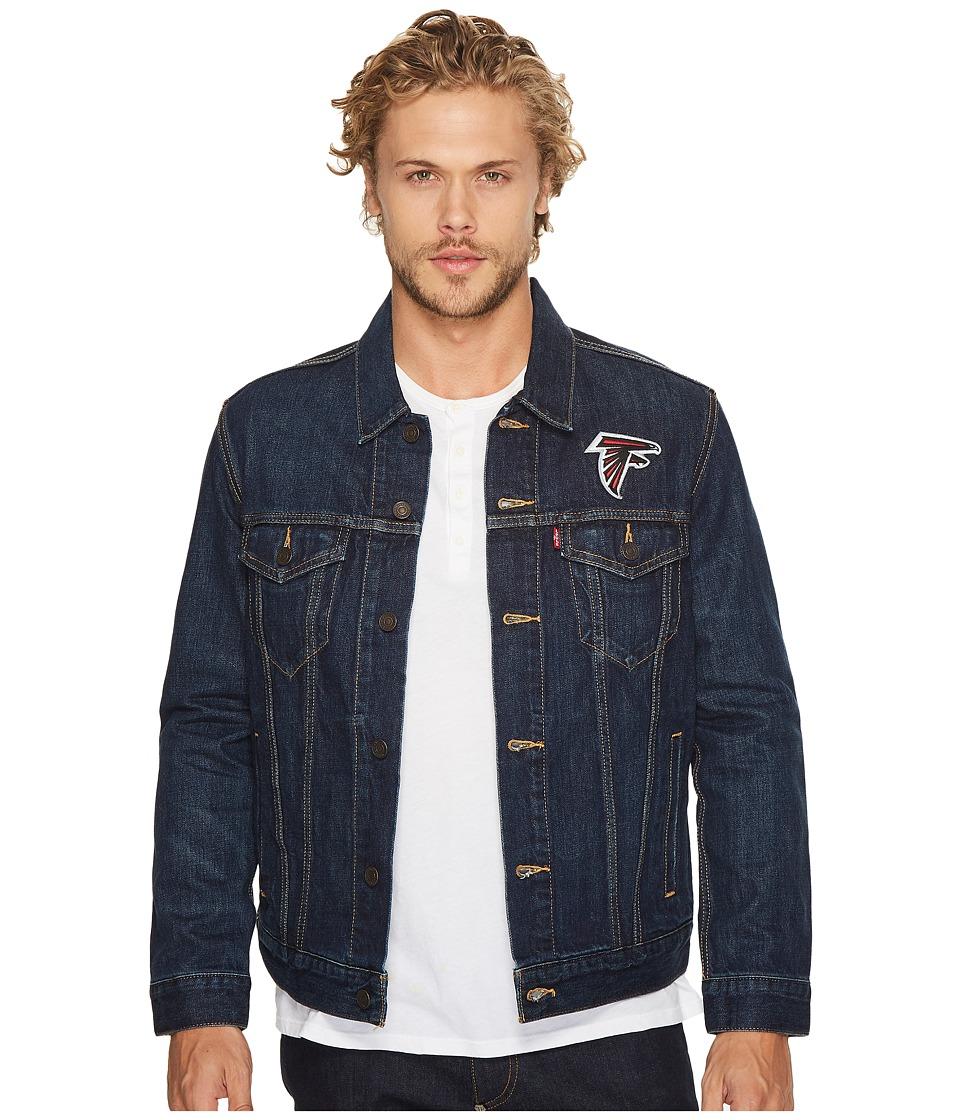 Levi's(r) Mens - Falcons Sports Denim Trucker (Blue) Men's Coat