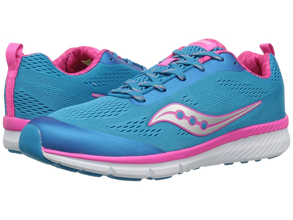 Saucony Kids - Ideal (Big Kid) (Blue) Girl's Shoes