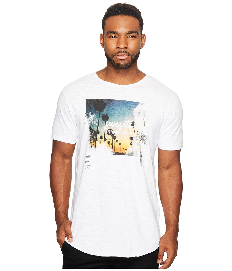 KINETIX - Sunsets Tee (White) Men's T Shirt