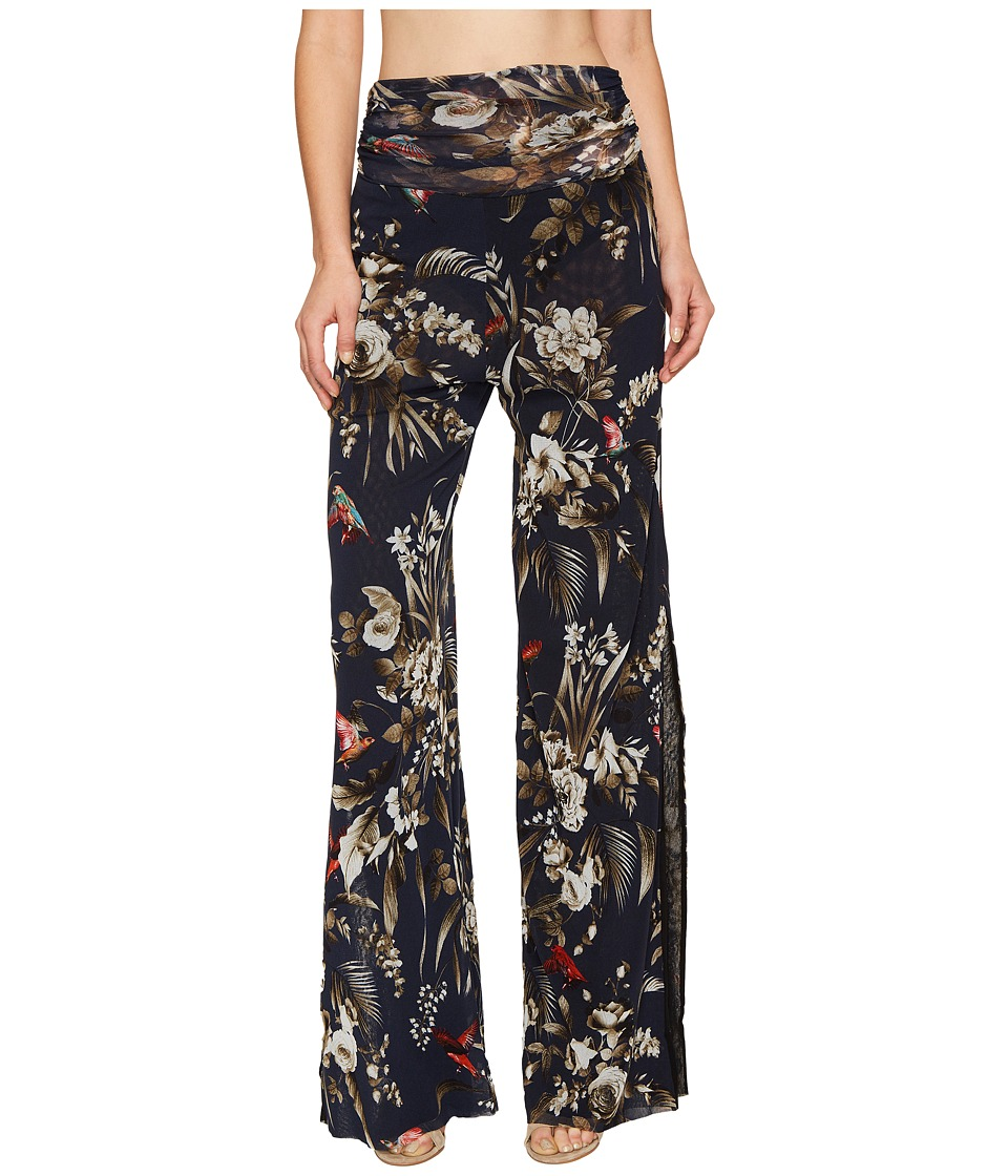 FUZZI - Long Hummingbird Tulle Pants (Tenebrae) Women's Casual Pants