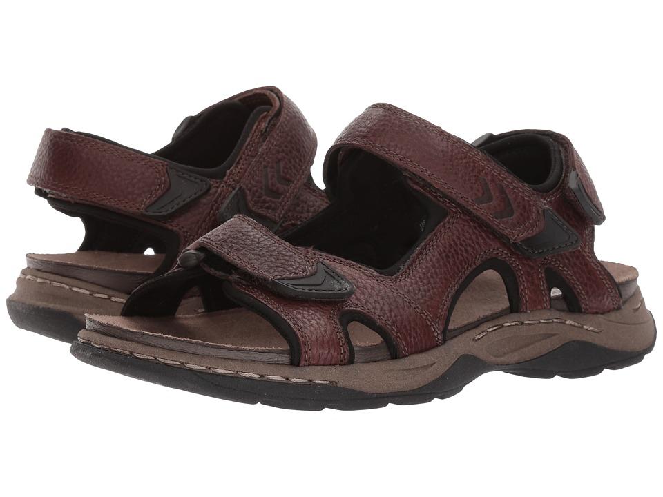 Dr. Scholl's - Hayden (Brown Leather) Men's Shoes