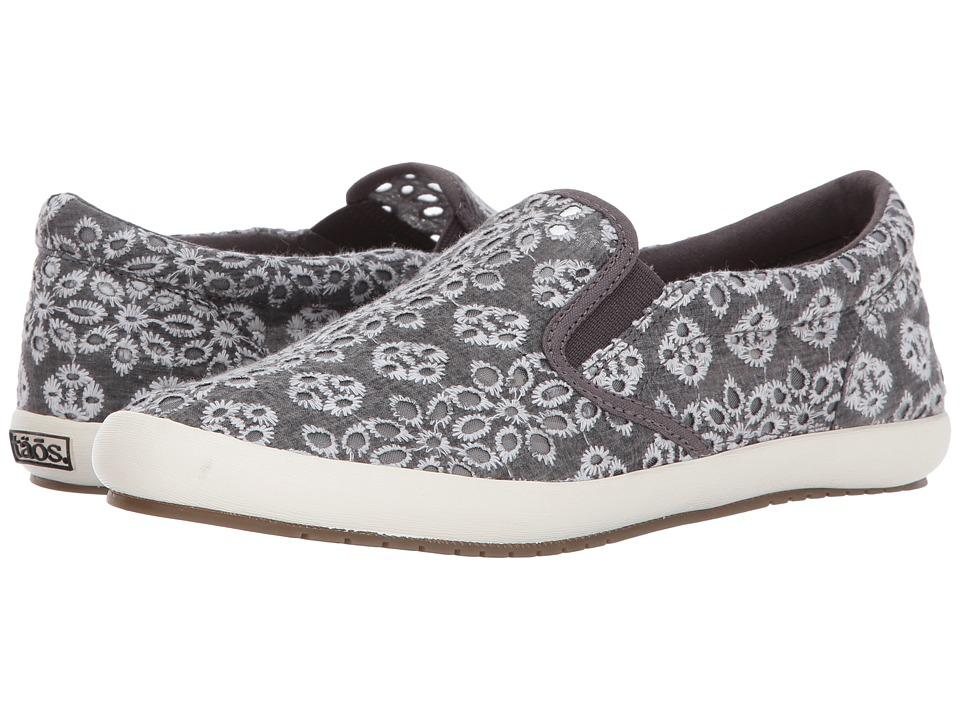 Taos Footwear Dandy (Charcoal Lace) Women