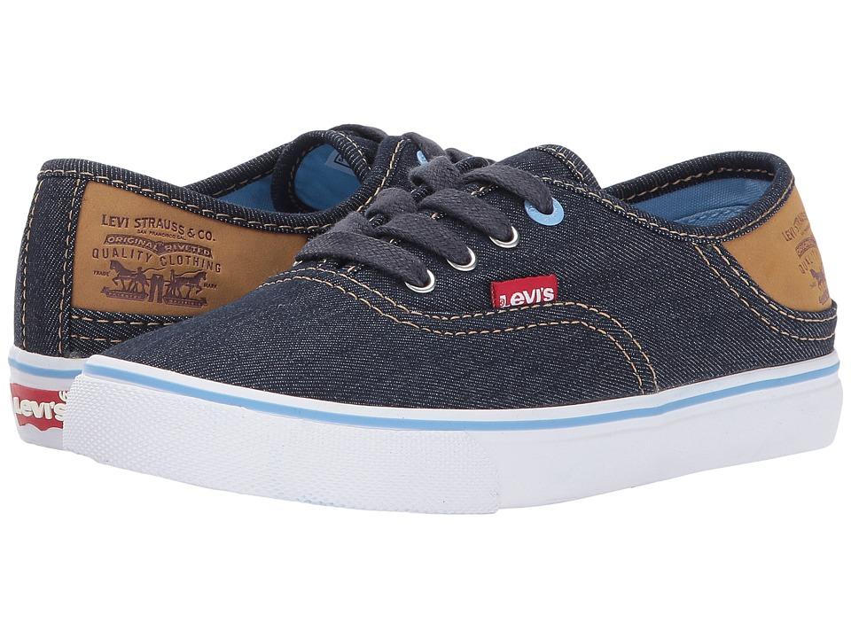 Levi's(r) Kids - Monterey Denim Buck (Little Kid) (Navy/Sky) Girl's Shoes