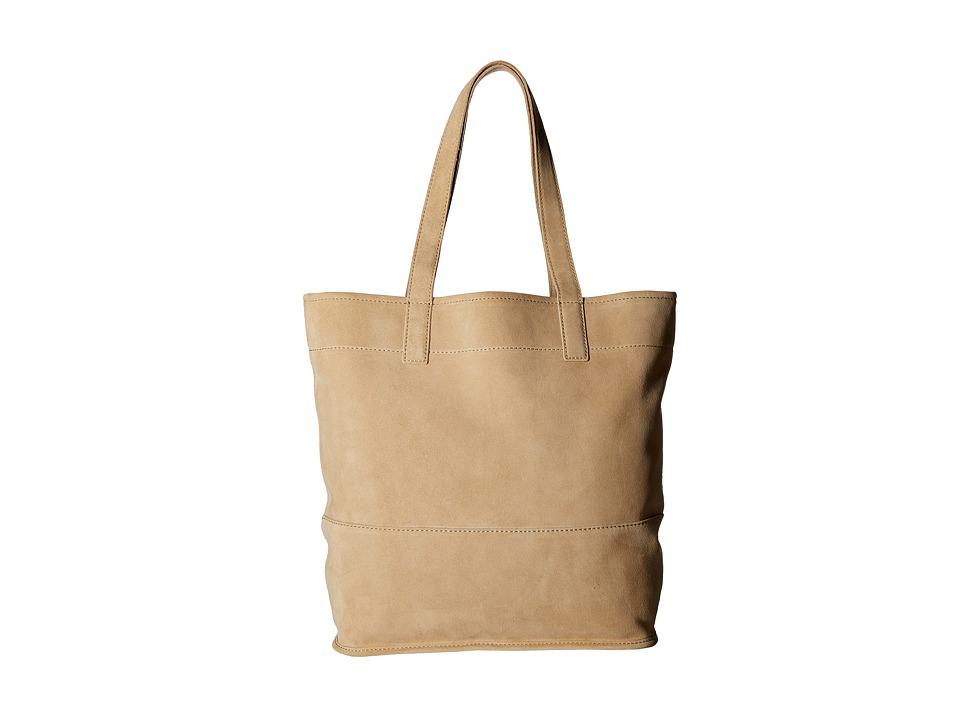 Frye - Harvest Tote (Beige) Tote Handbags
