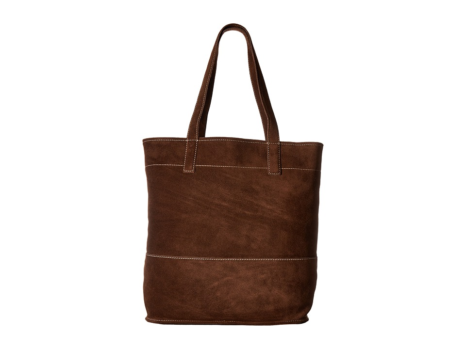 Frye - Harvest Tote (Dark Brown) Tote Handbags