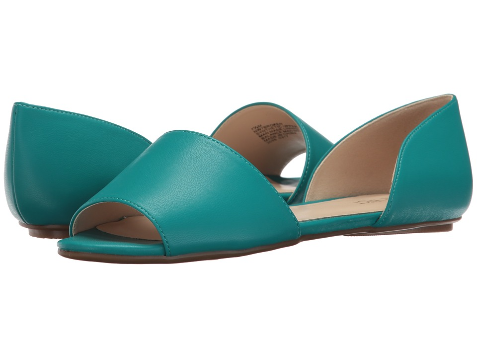 Nine West - Broken (Turquoise Synthetic) Women's Flat Shoes