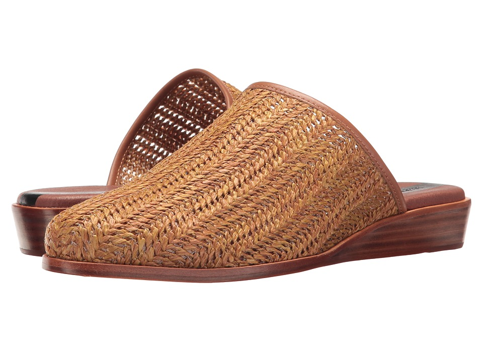 Matt Bernson - Finch (Chestnut Raffia) Women's Shoes