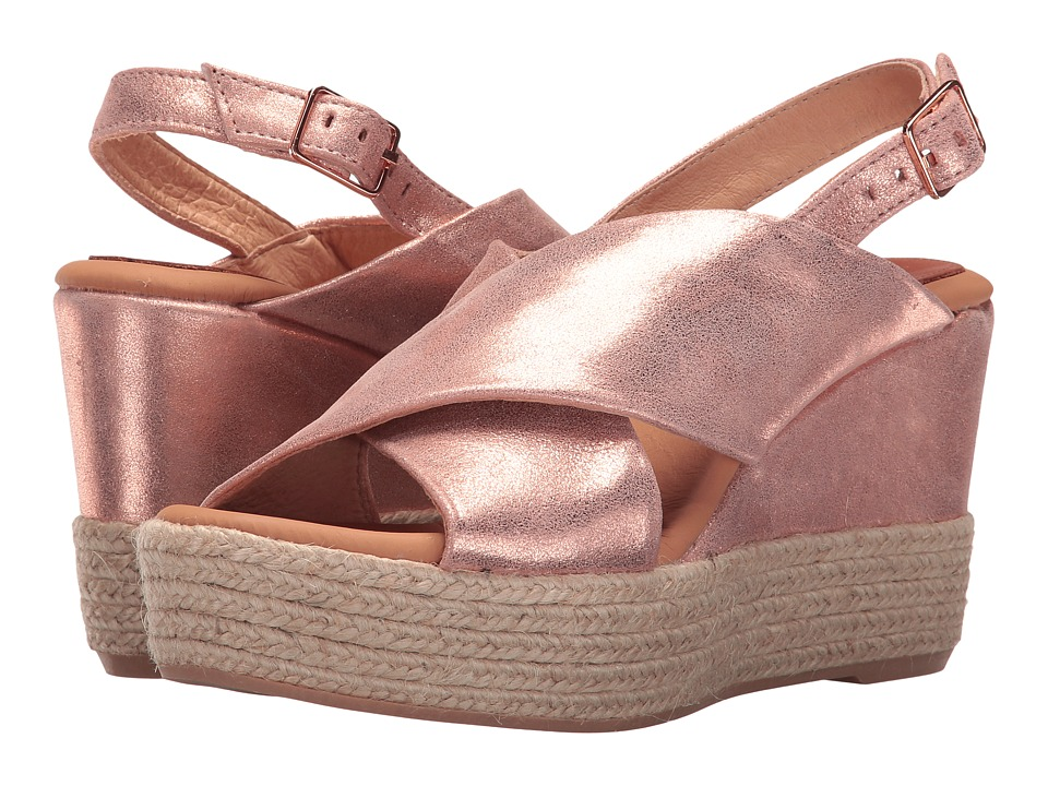 Matt Bernson - Capri (Rose Gold Suede) Women's Shoes