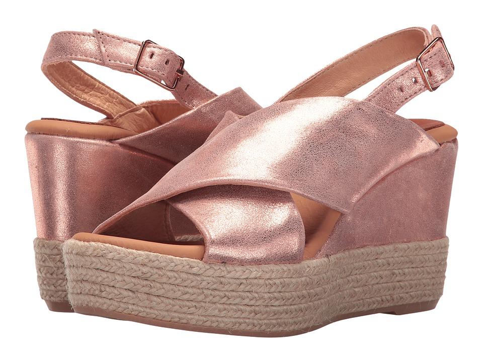 Matt Bernson - Capri (Rose Gold Suede) Women's Shoes