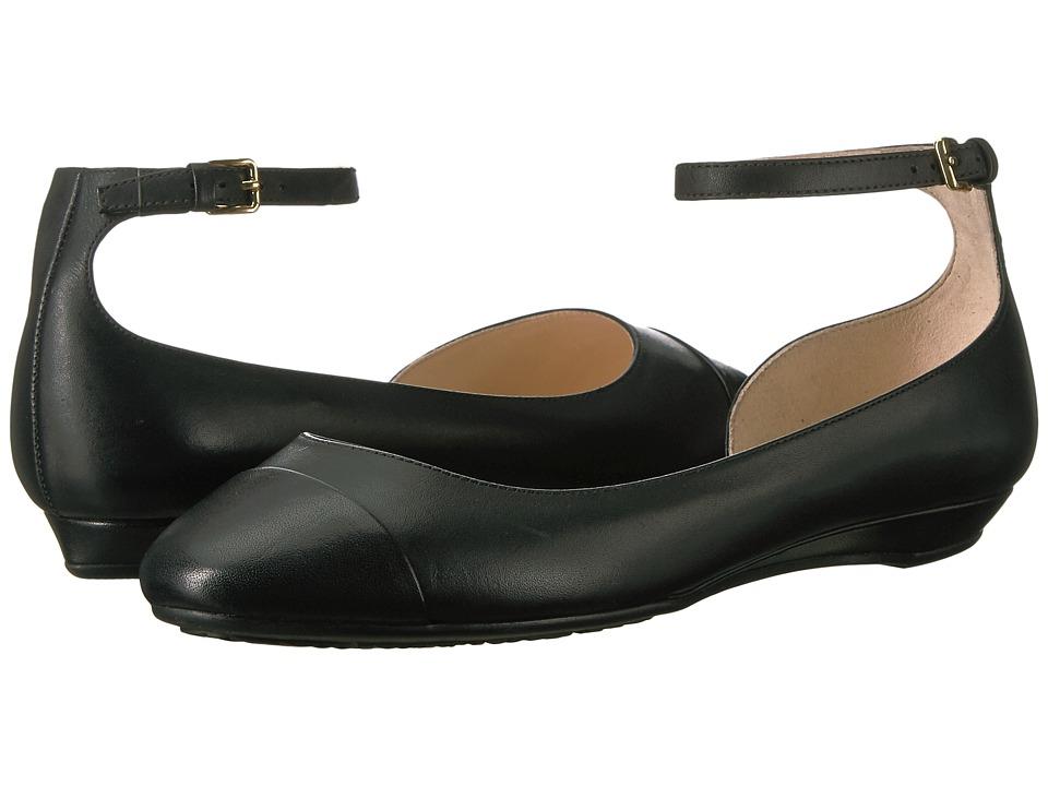 Cole Haan Dixie Ballet (Black Leather) Women