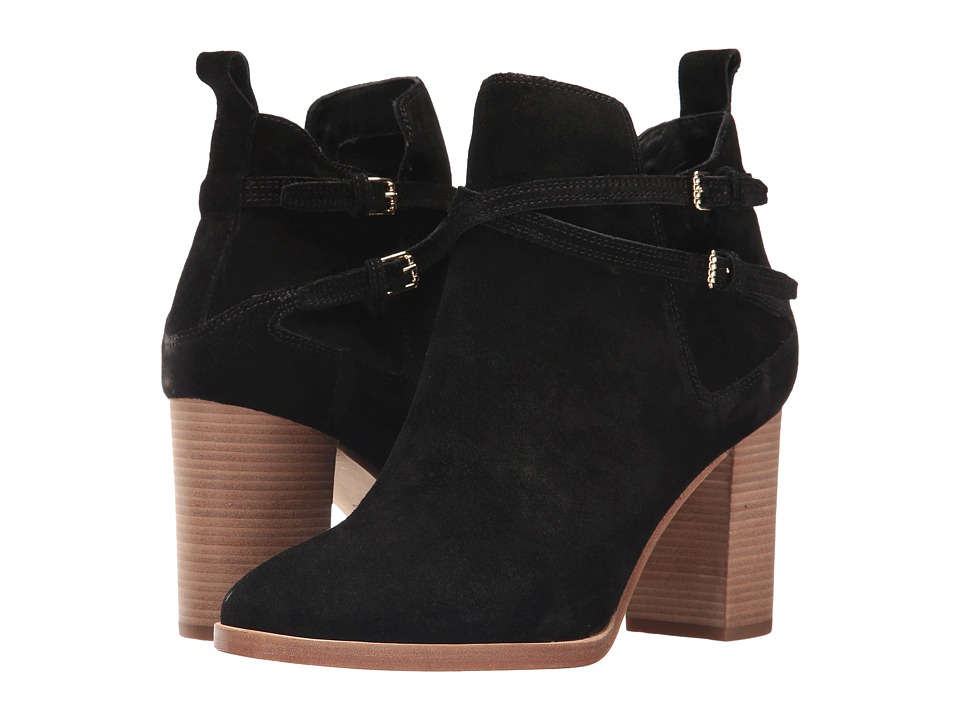 Cole Haan Linnie Bootie (Black Suede) Women