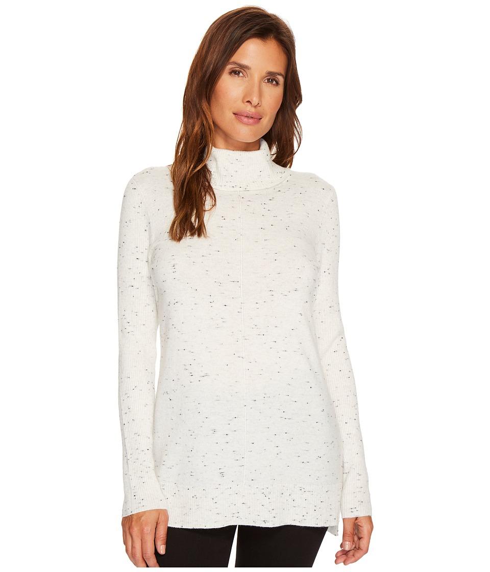 Calvin Klein Turtleneck with Flecks (Soft White) Women