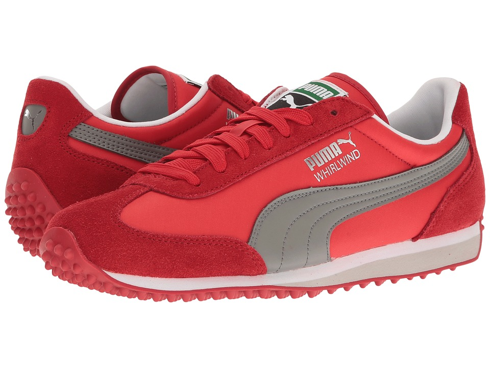 PUMA - Whirlwind Classic (Barbados Cherry/Quiet Shade) Men's Lace up casual Shoes