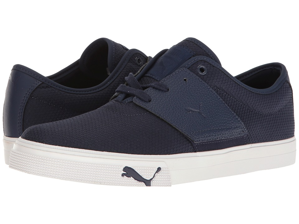 PUMA - El Ace Textured (Peacoat) Men's Shoes