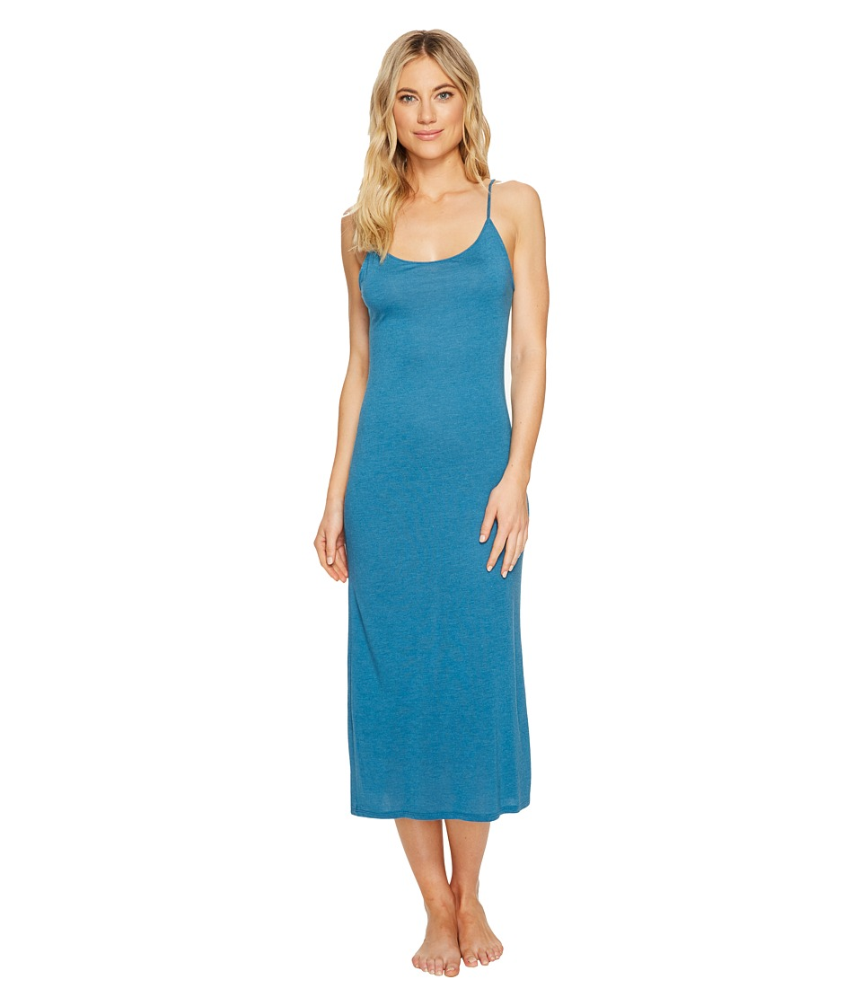 Natori - Shangri-La Gown (Heather Seaport) Women's Pajama