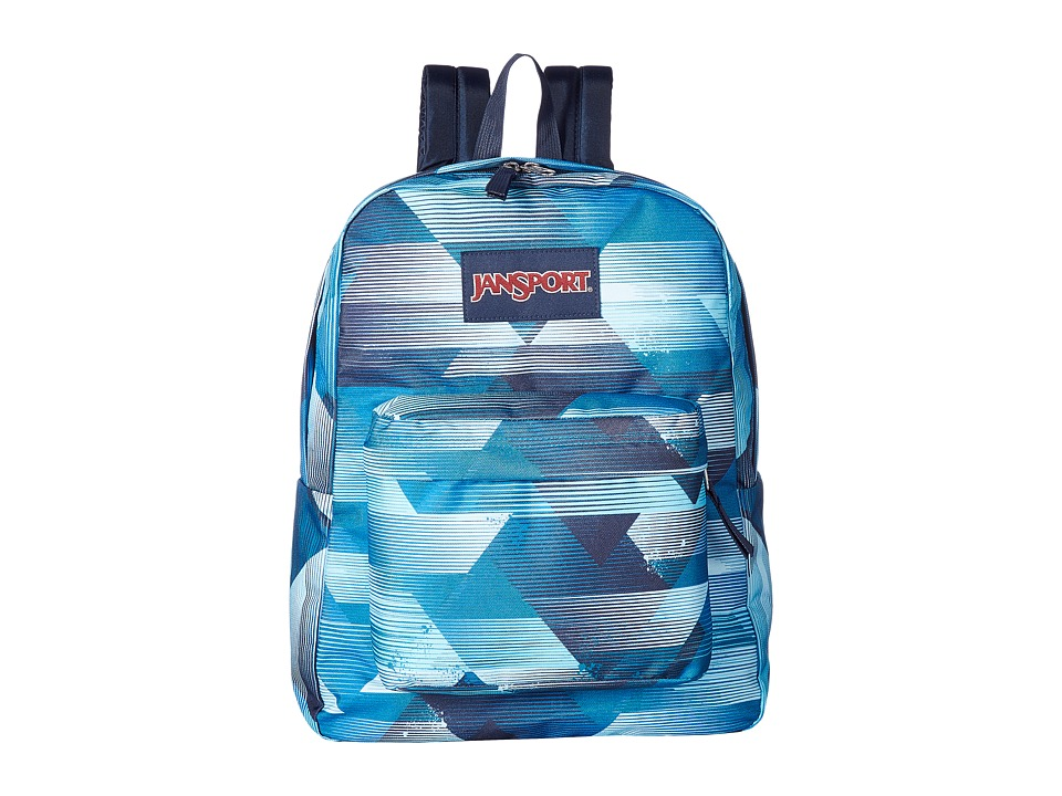 JanSport - SuperBreak (Multi Fast Lines) Backpack Bags