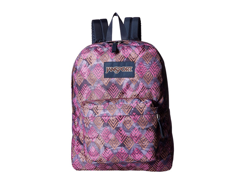 JanSport - SuperBreak (Multi Diamond Arrows) Backpack Bags