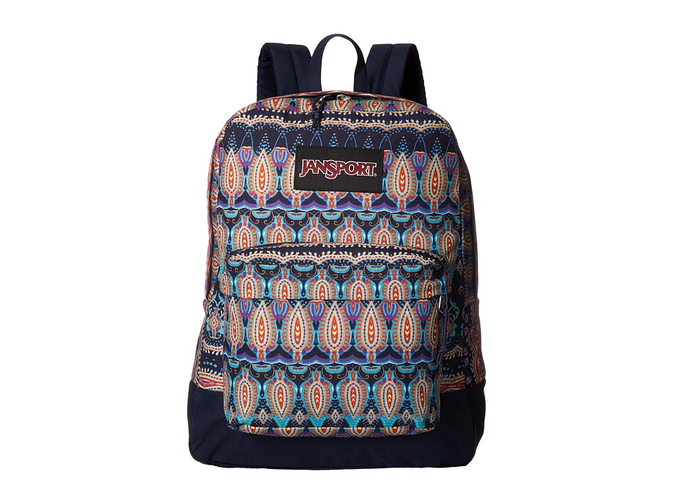 JanSport - Black Label SuperBreak (Multi Paisley Stripe) Backpack Bags
