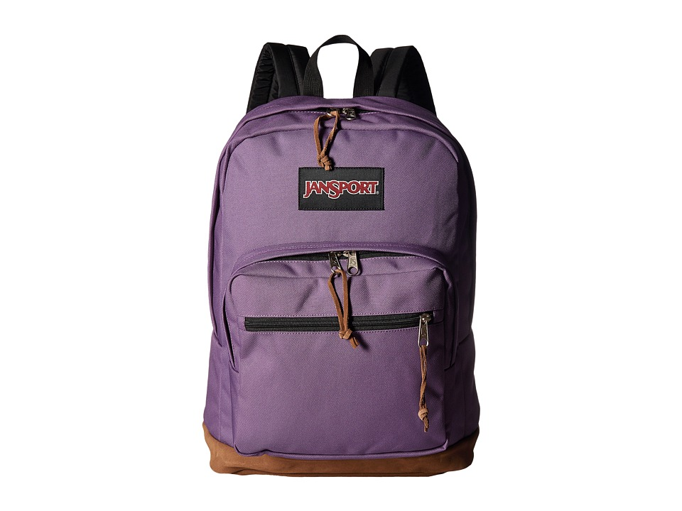 JanSport - Right Pack (Purple Frost) Backpack Bags