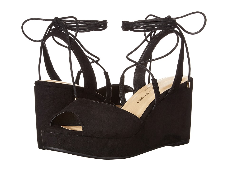 Chinese Laundry Cindy (Black Microsuede) Women