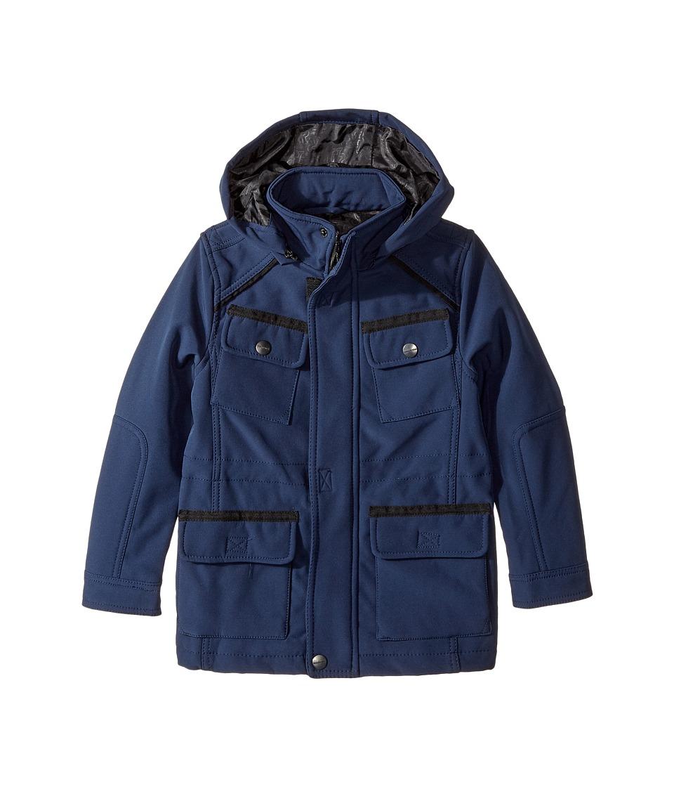 Urban Republic Kids - Softshell Bonded Jacket (Little Kids/Big Kids) (Navy) Boy's Coat