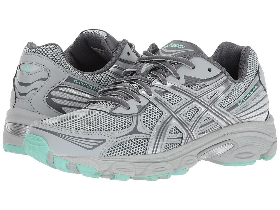 ASICS - GEL-Vanisher (Mid Grey/Carbon/Ice Green) Women's Running Shoes