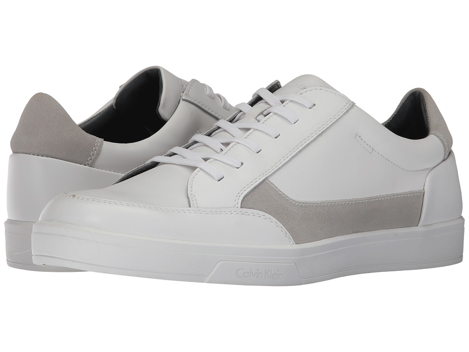 Calvin Klein - Bradley (White) Men's Shoes