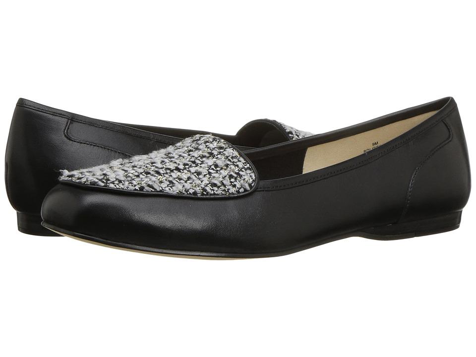 Bandolino Liberty (Black/White Boucle/Leather) Women
