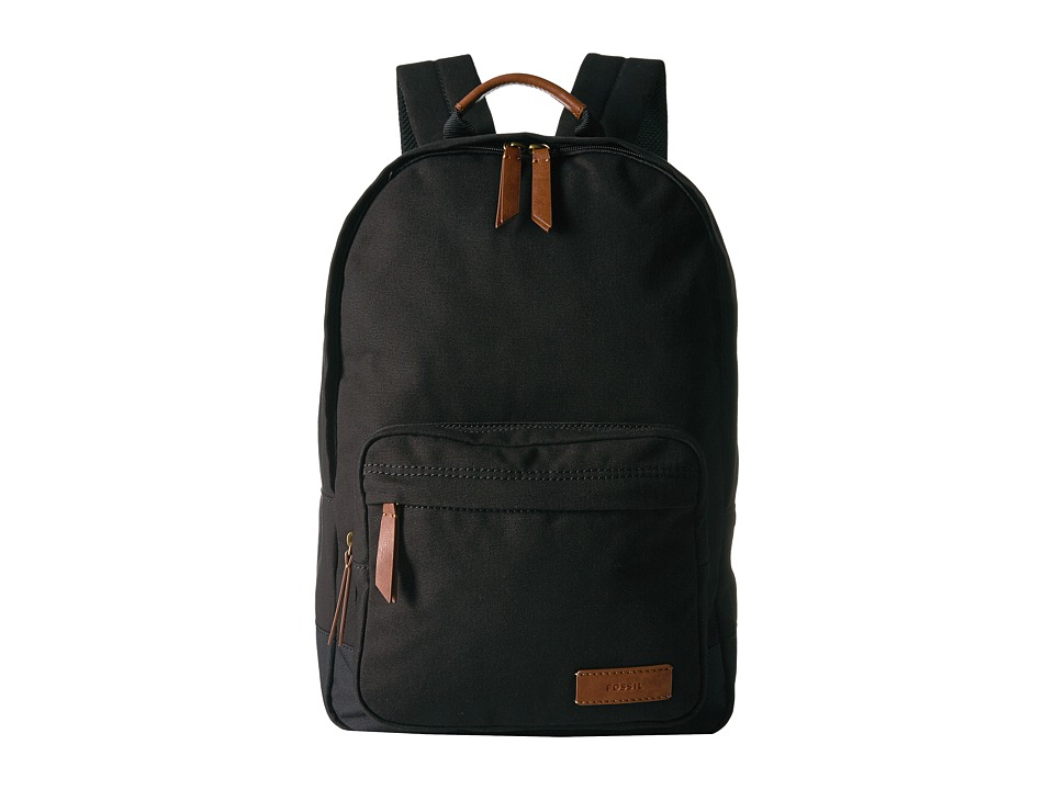Fossil - Estate Backpack (Black) Backpack Bags