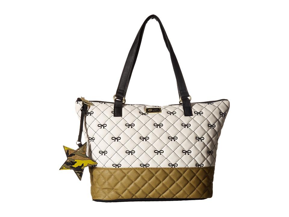 Luv Betsey - Amor PVC Tote (Irish Crem) Tote Handbags